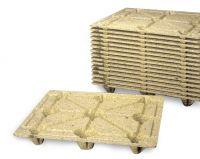 Palette en fibre de bois 1200x1000mm