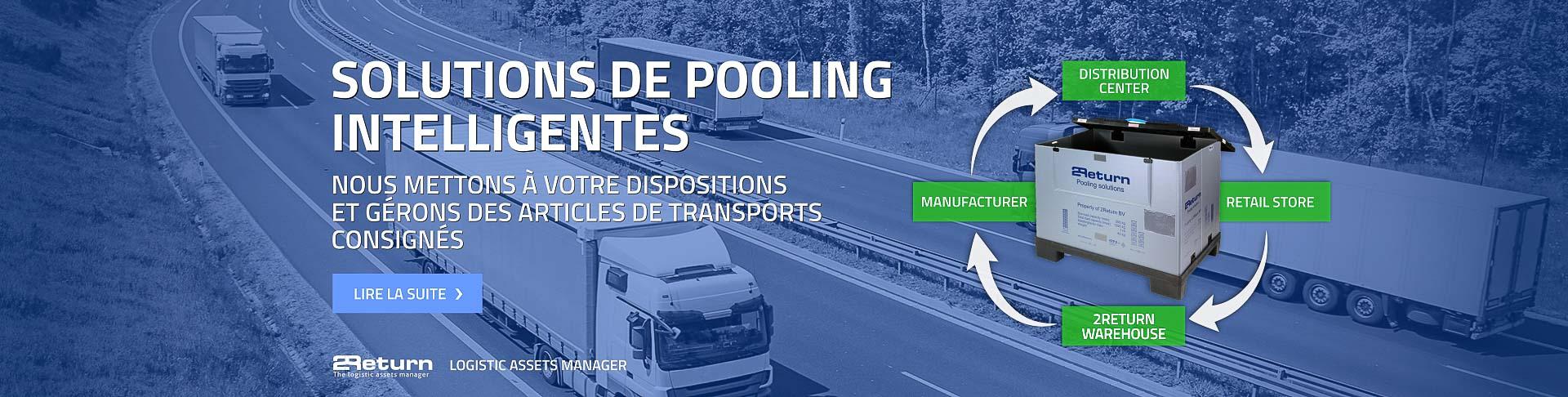 Pooling de produits logistiques